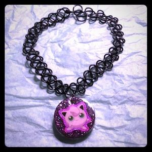 Jewelry - Handmade Resin JigglyPuff Tattoo Choker 🥰🤪🤩